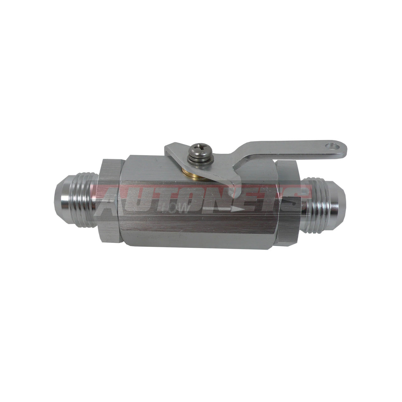 Shut Off Cable : An aluminum inline fuel shut off valve cut w
