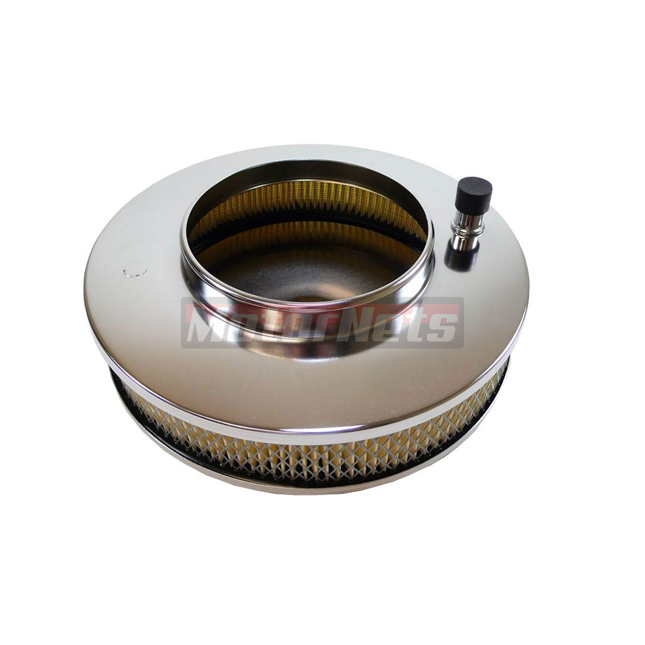 Muscle Car Engine Air Cleaners : Quot x air cleaner chrome muscle car fits chevy ford