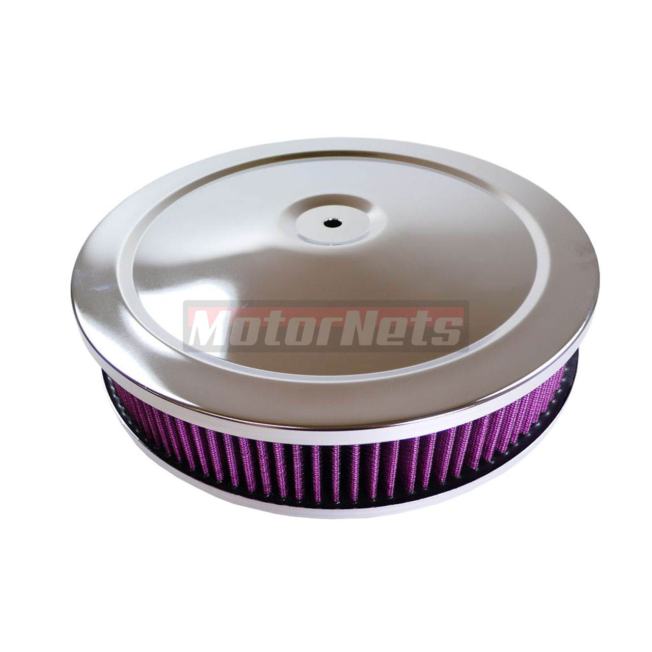 Muscle Car Engine Air Cleaners : Quot air cleaner chrome muscle car washable brl bbl