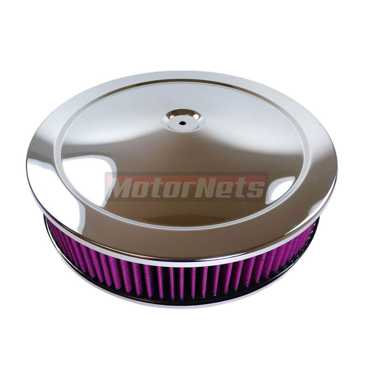 Chrome Cleaner For Cars : Quot round chrome muscle car air cleaner washable filter