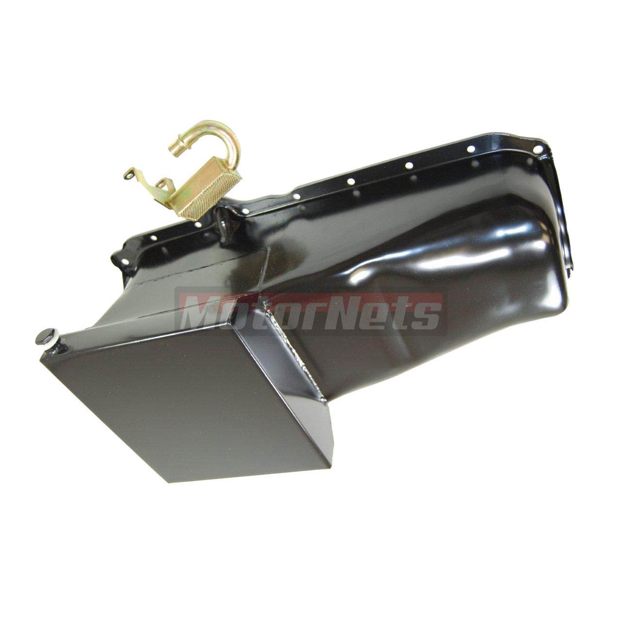 Chevy Small Block Black 86-UP 283 305 327 350 400 Drag