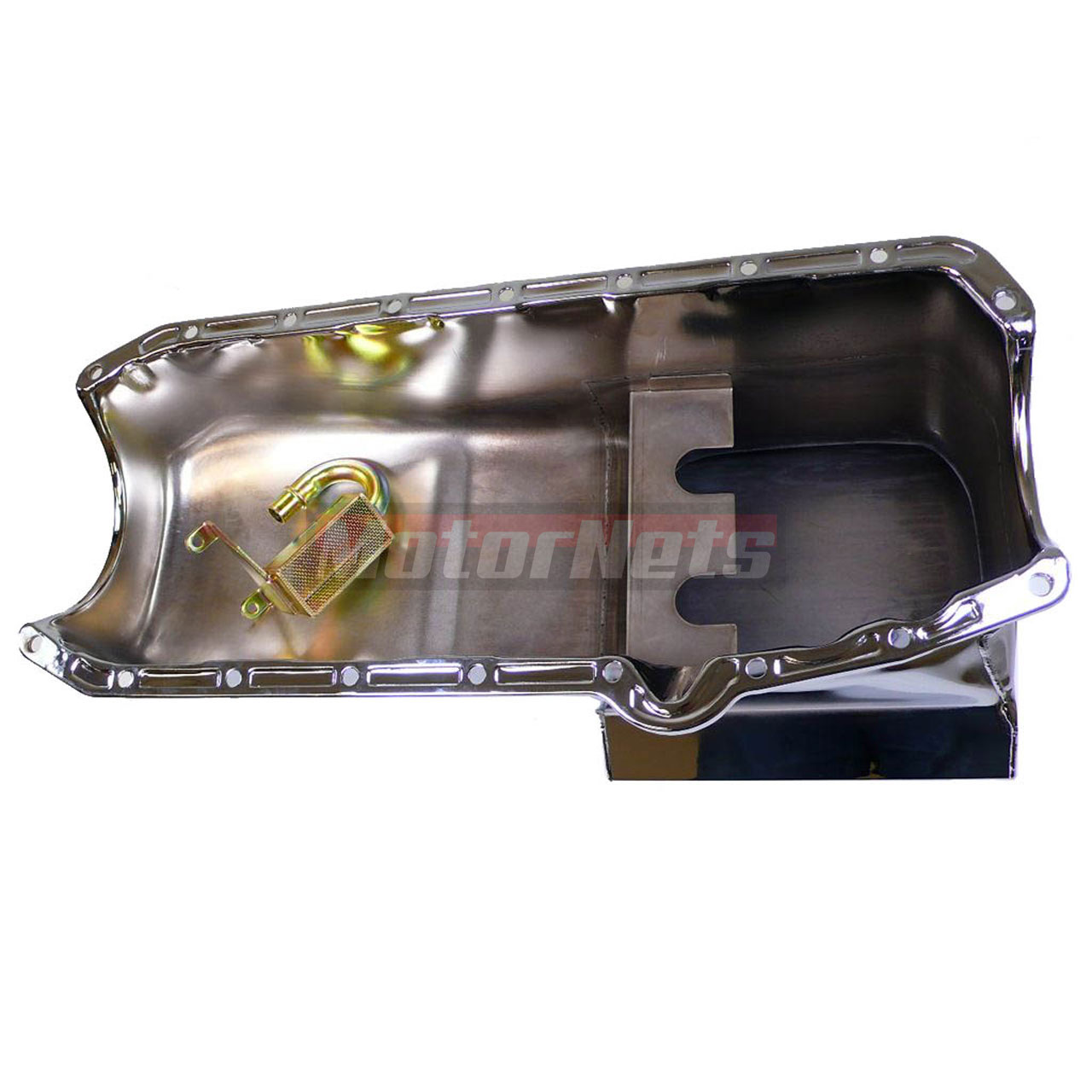 Chevy Small Block 283-350 Chrome Drag Race 1955-79 Oil Pan