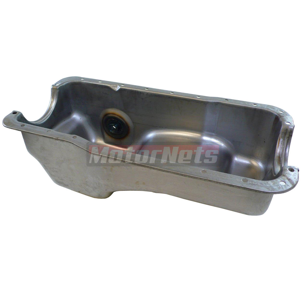 Ford 5.0 Mustang Dual Sump Raw Oil Pan Fox Body 302 83-93