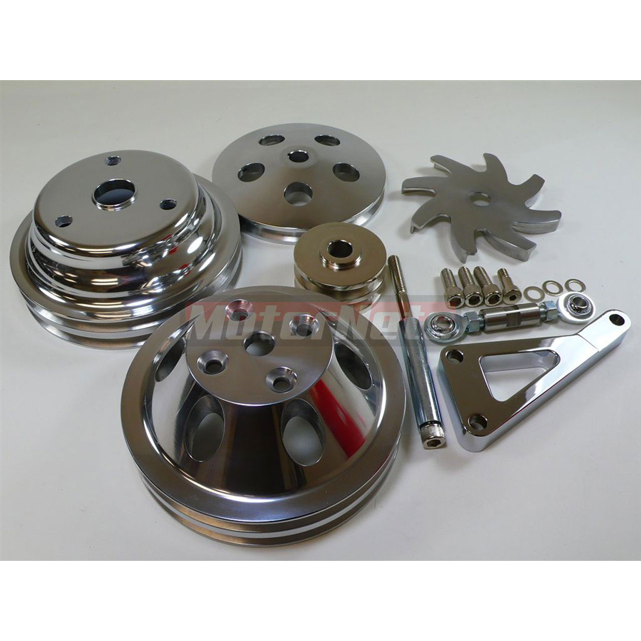 Aluminum Small Block Chevy 283-350 2 Groove Long Water