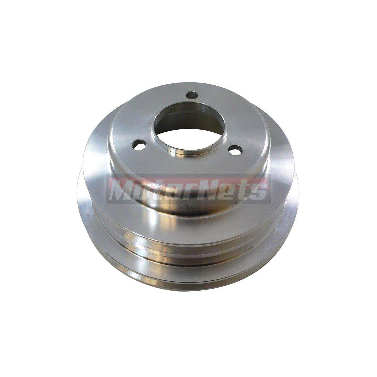 Satin Aluminum Big Block Chevy 396-454 Crankshaft Pulley