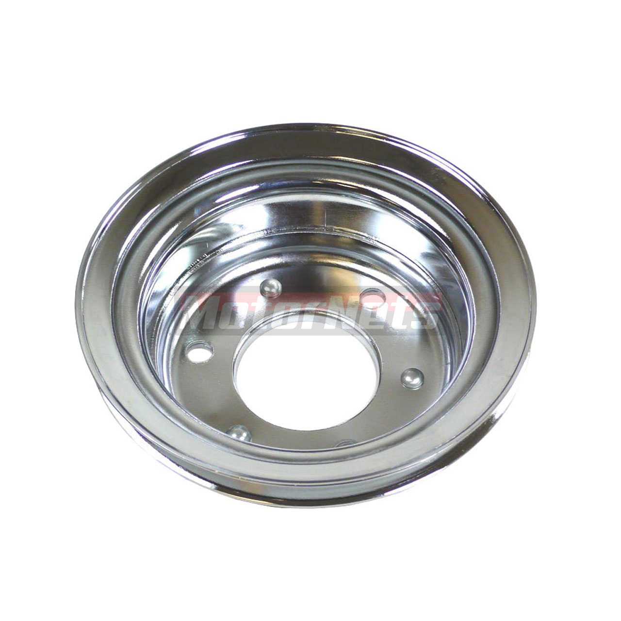 Chrome Steel Ford Mustang 289 Crankshaft Lower Pulley 65